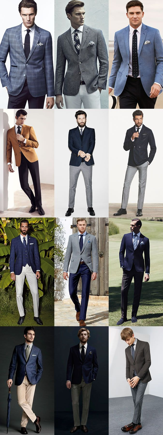 The Groom's Guide To Wedding Wear:The Smart-Casual Alternative Lookbook Inspiration