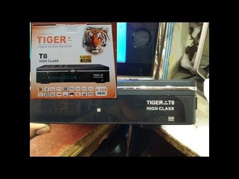 HOW TO UPGRADE TIGER T8 HIGH CLASS RECEIVER POWERVU KEY NEW SOFTWARE