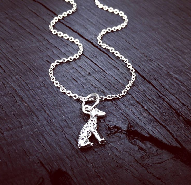 Dalmatian Charm Necklace   Dalmatian Jewelry   Jewelry Gift For Dalmatian Lover   Dalmatian Rescue And Foster   Adoption And Transport Gift by SecretHillStudio on Etsy https://www.etsy.com/listing/518278403/dalmatian-charm-necklace-dalmatian