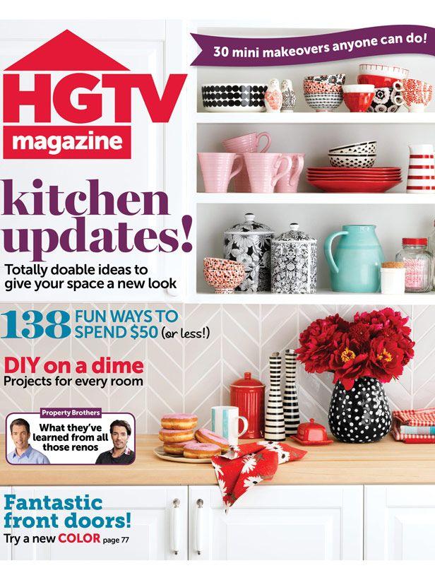 See What S Inside The September Issue Of Hgtv Magazine Hgtvmagazine Http
