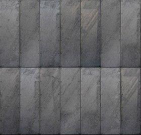 Textures Texture Seamless Galvanised Steel Metal Facade