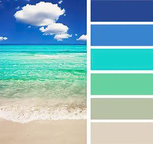 морская цветовая гамма
