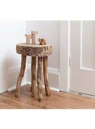 Wooden stool made with trunk- Sgabello con tronco di legno