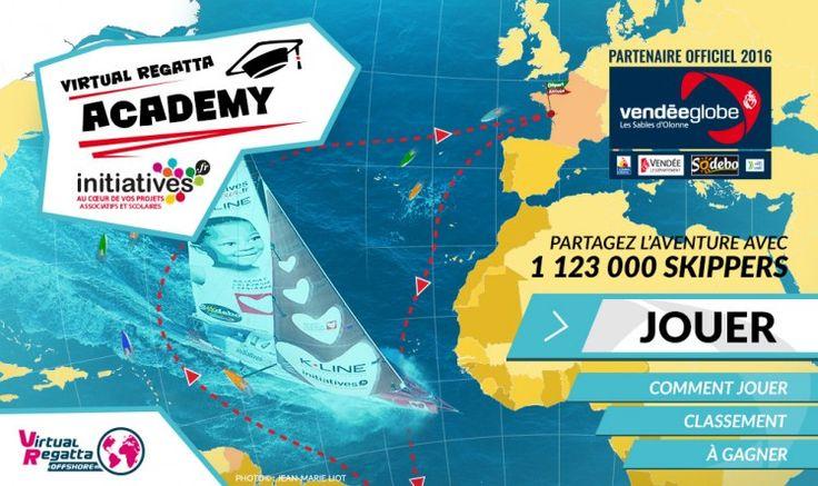 Participez à la course  Virtual Regatta en engageant le bateau de votre classe. Un prolongement idéal aux apprentissages faits en classe.