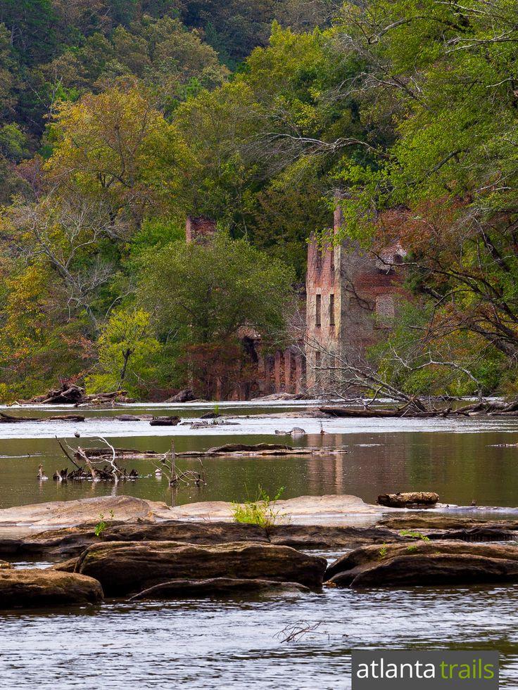 Explore Sweetwater Creek State Park near Atlanta