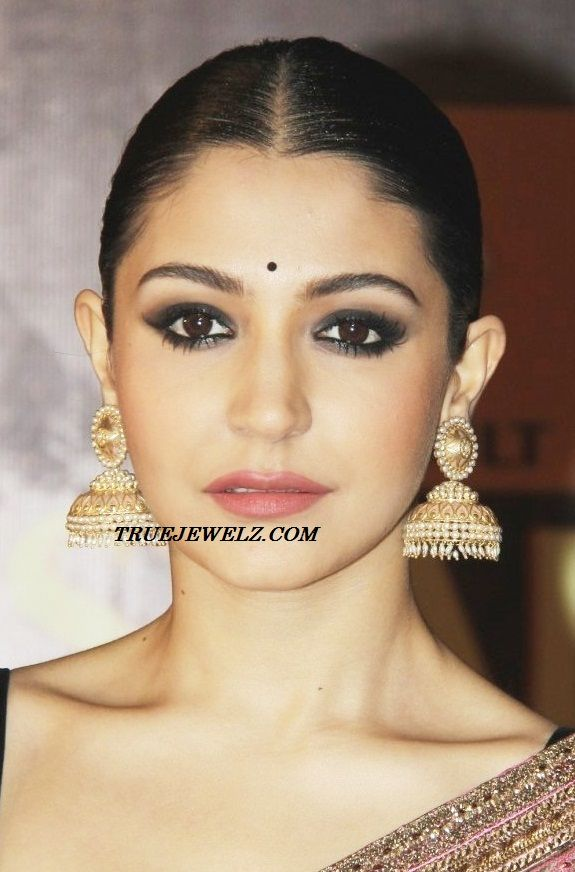 Big Antique Gold Amp Pearl Jhumkas Look Great With