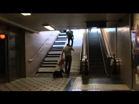 Marketing de guerrilla - Piano escaleras metro de Estocolmo. Piano stair...