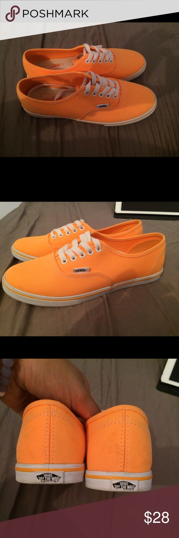821d2d59a06b orange vans shoes   OFF42% Discounts