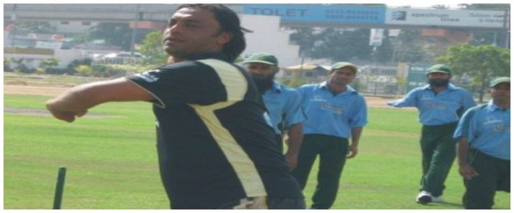 World fastest bowler Shoaib Akhtar playing Cricket with Physically Disability Cricketers in the net at National Stadium Karachi. His comments for these special cricketers deserve to watch,