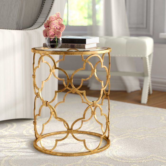 Keiko End Table With Images End Tables Glass End Tables Side