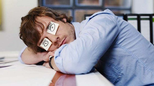 Смешная картинка человека который хочет спать, жду