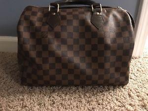 Louis Vuitton Speedy 30 handbag barely used! Free Shipping    eBay