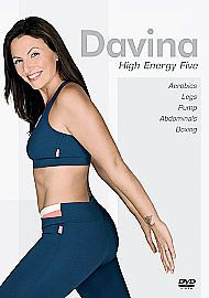 Davina McCall - High Energy Five (DVD, 2007)