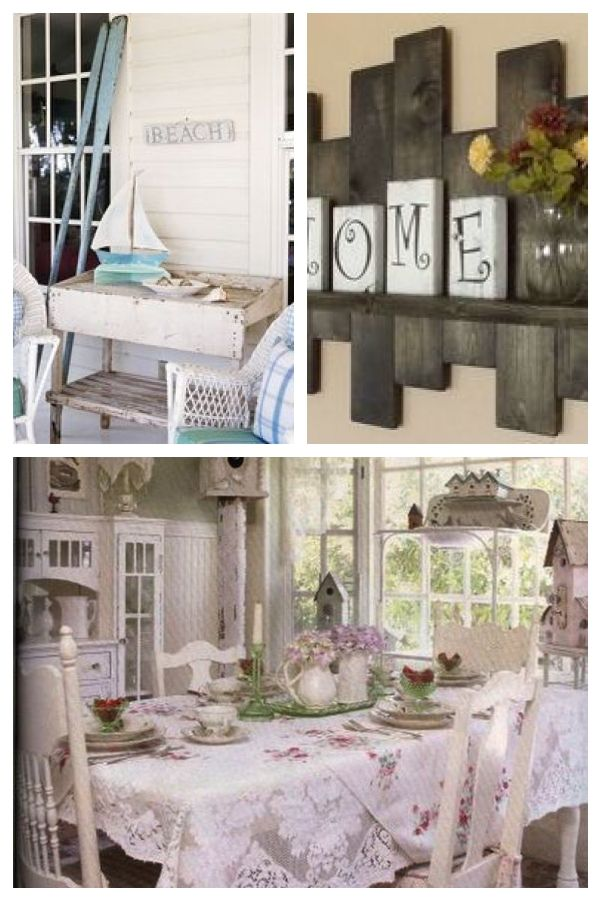 Shabby Chic Beach Decor Ideas For Your Beach Cottage With Images