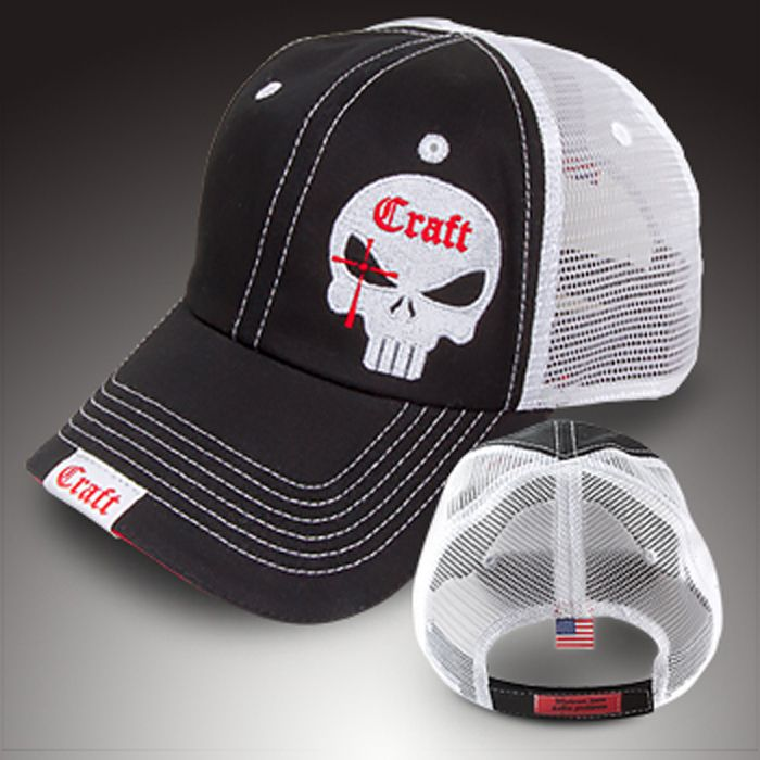Authentic Chris Kyle merchandise -- mesh cap -- black | American