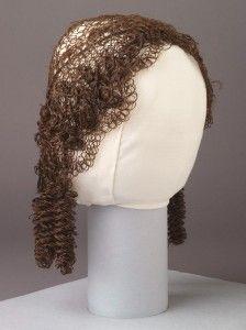 Mid-19th century hair cap from Winterthur