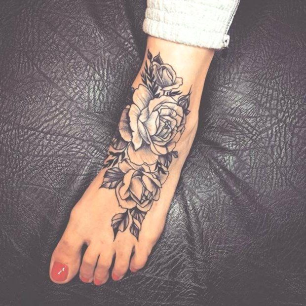 45 Awesome Foot Tattoos For Women Arm Awesome Cat Christian Couple Femininas Foot Tattoo Designs Foot Foot Tattoos For Women Tattoos For Women Flowers