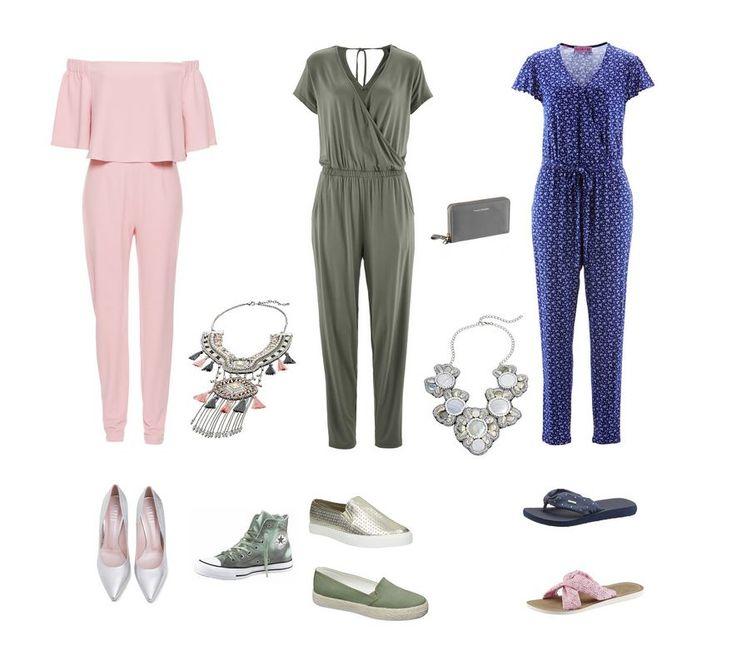 Letný overal pre plnoštíhlu ženu - plus size overal - Móda pre moletky Leto 2017, oblečenie pre moletky