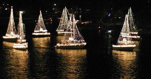 Get in the holiday spirit on 12/8 watching the Mission Bay Parade of Lights