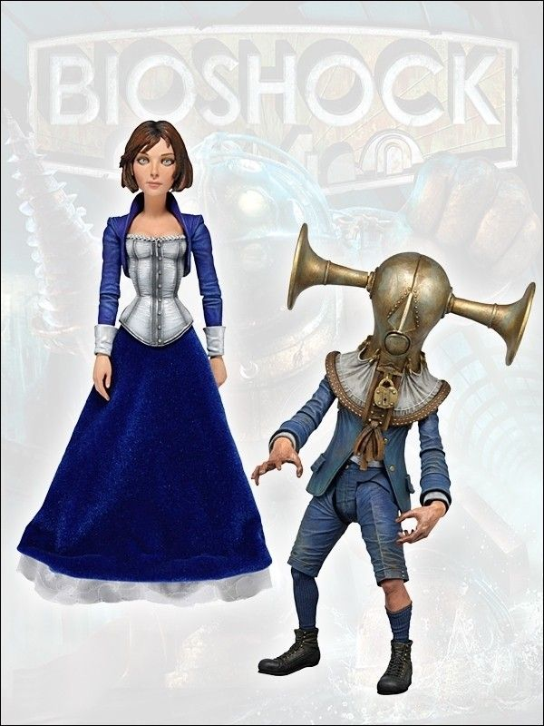 Bioshock Infinite Serie 1 AF Set 18cm (2) - Bioshock - Games