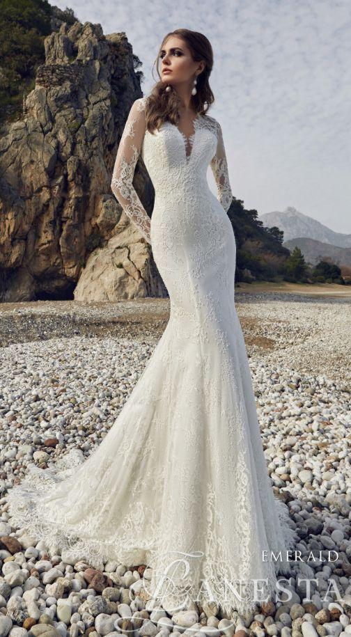 Wedding dress idea; Featured Dress: Lanesta Bridal