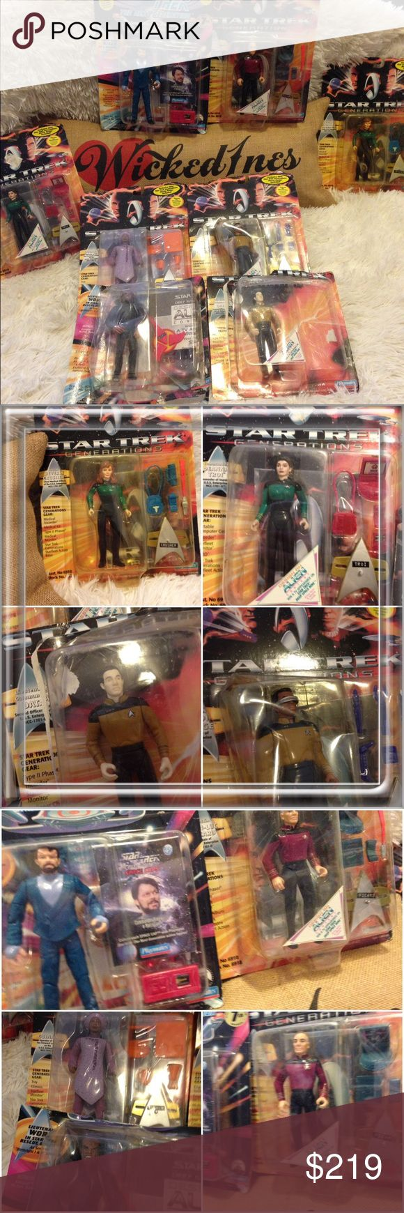 Rare Star Trek Vintage Toy Collection Please see photos for description. These are rare and from the early 90's. Star Trek Other