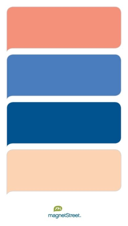 1000 ideas about peach colored rooms on pinterest paint - Peach color paint palette ...