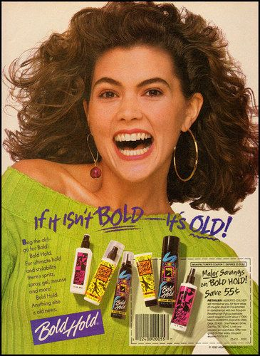 1992 Magazine Ad For Bold Hold Hair Spray 050512 Ebay