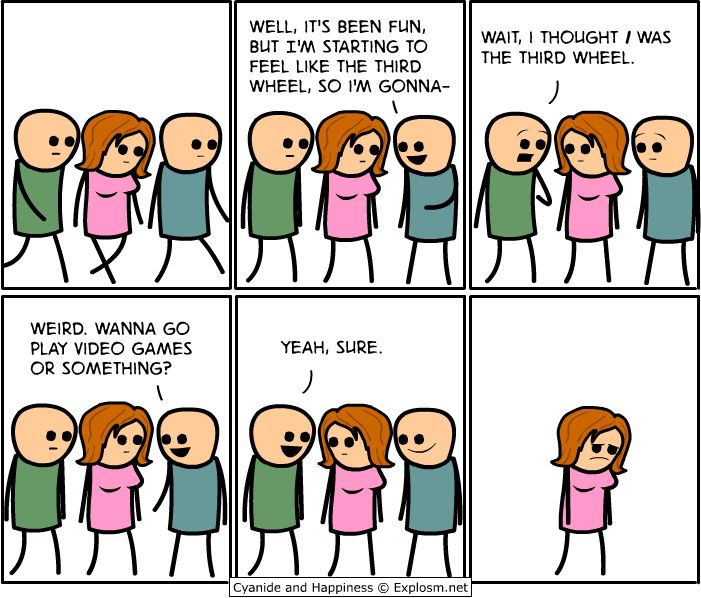 17 Times 'Cyanide & Happiness' Dropped Some Dark...: 17 Times 'Cyanide & Happiness' Dropped Some Dark and Funny Truth Bombs… #MikeMyers
