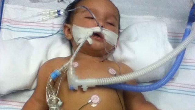 Infant assaulted with 8 vaccine doses at six months old... collapses into state of brain damage... doctors blame the parents!