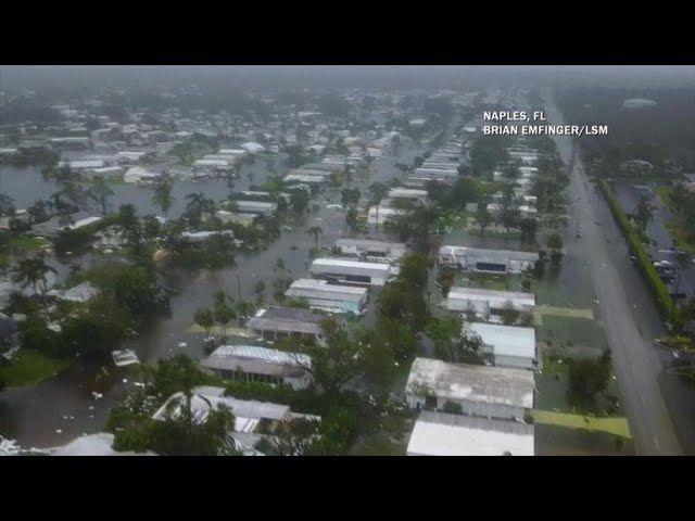 Huracán Irma sigue avanzando hacia el Norte de Florida, su categoría desciende a la 1 - https://www.meteorologiaenred.com/huracan-irma-sigue-avanzando.html