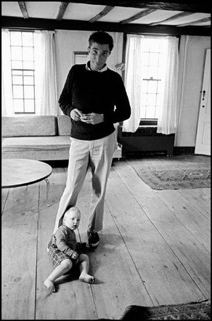 John Updike by Dennis Stock - 1962: Writers John, Mass American Writers, Photo Dennis Stockings, Magnum Photos, People Fam Artists Writ, Authors Books, John Updik, Portraits Photos
