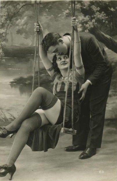 In 1920 if a man pushed a woman on a swing and caught a glimpse of her thigh...they were automatically married...