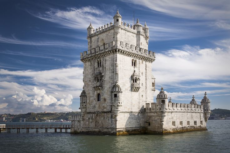 Belém Tower was built in the early 16th century as part of a defense system to protect the city of Lisbon. It was the starting point for many navigators who set out to discover new trade routes and has become a monument to Portugal's Age of Discovery.