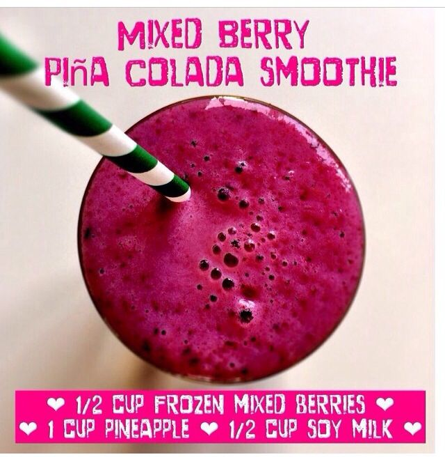 mixed berry smoothie | healthy life | Pinterest