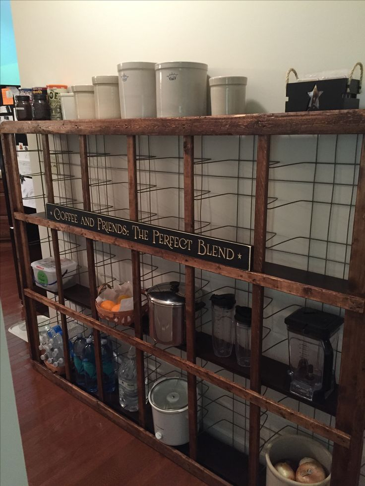 My redo, repurposed Boxsprings turned to a farmhouse shelf!