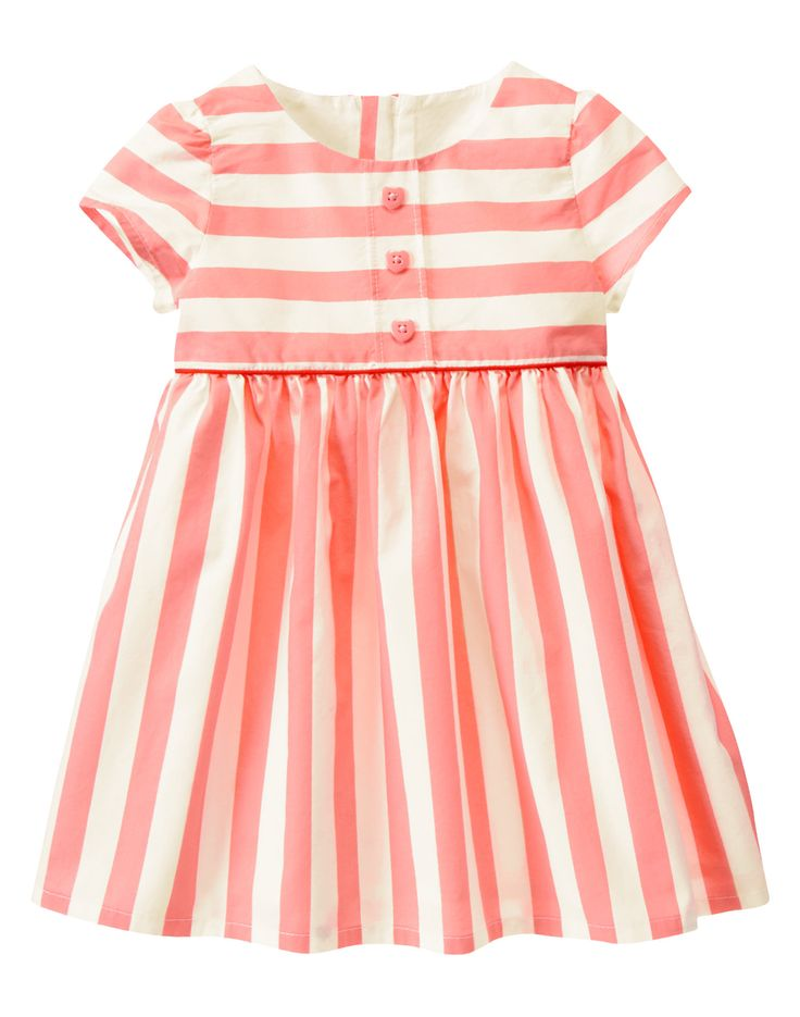 kids dress. vestido infantil listras.