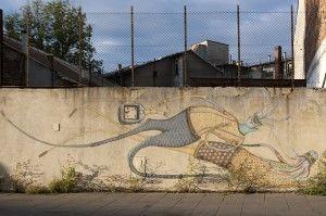 Mural, Cracov, Podgórze