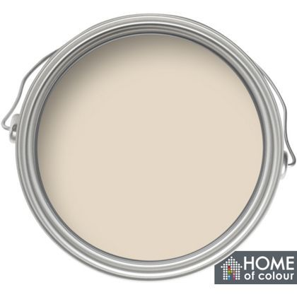 Home of Colour Kitchen and Bathroom Almond - Soft Sheen Emulsion Paint - 2.5L