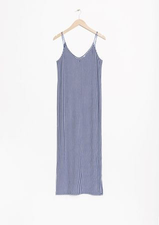 & Other Stories | Spaghetti Strap Maxi Dress