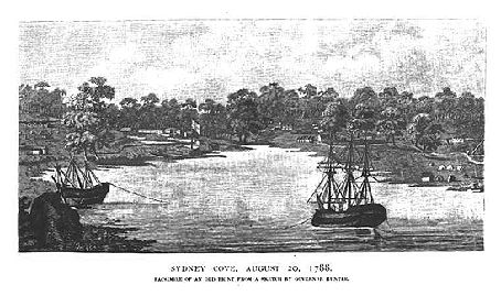 This webpage from the NSW Parliament briefly describes the early European settlement of New South Wales between 1788 and 1810. The page describes the convict settlement in Sydney, the early Governors of New South Wales, the Rum Rebellion and the beginnings of a judicial system.