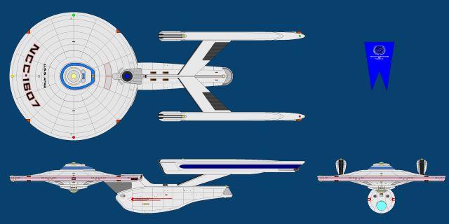 Star Trek USS Afar NCC-1607 TMP era refit