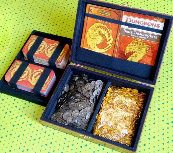 Caixa para card game - Three Dragon Ante