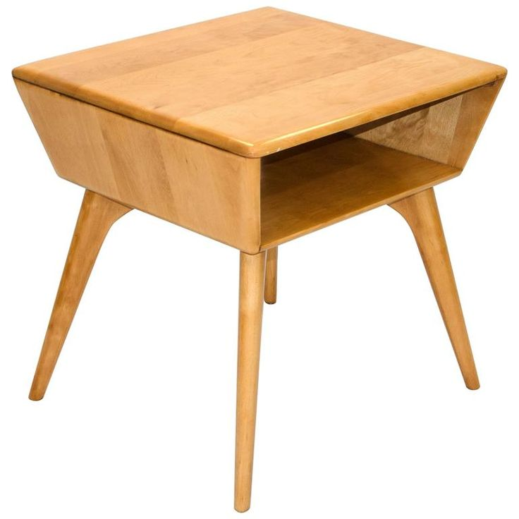 Heywood Wakefield Magazine or Lamp Table | From a unique collection of antique and modern side tables at https://www.1stdibs.com/furniture/tables/side-tables/