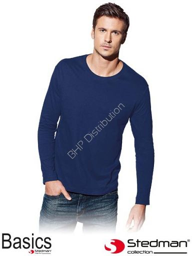 Granatowa koszulka z długim rękawem ST2500_NAV