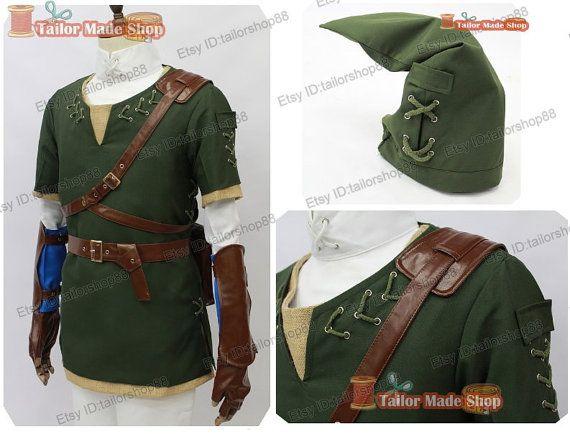 La légende de la princesse vert link de zelda par TailorShop88