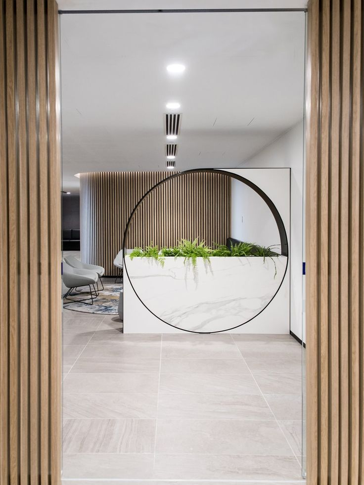 Polytec products are becoming frequently used in Commercial projects due to the directional lines and realistic timber look and feel of the Ravine finish. Plus Architecture's Births, Deaths and Marriages Registry fit-out displayed Natural Oak Ravine as a contender for polytec's Design Awards in Queensland, ultimately winning the category of 'Commercial Workspace and Healthcare'.