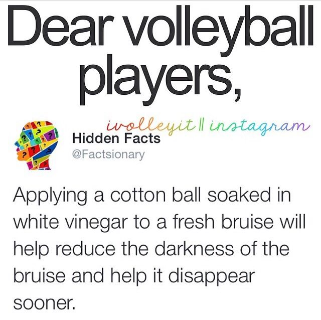 dear volleyball players Yea but that is no fun then I like bruises that makes me feel like I accomplished something with that