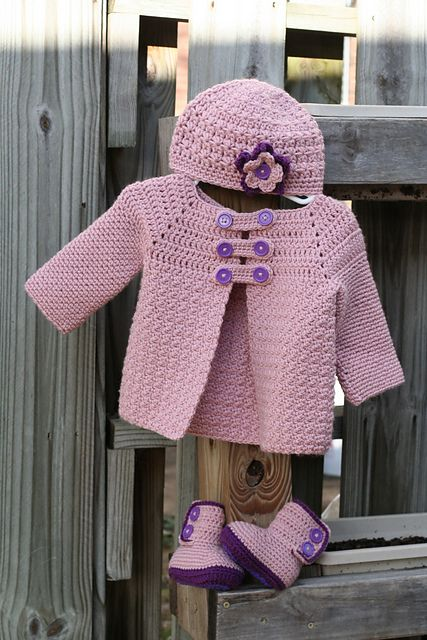 Ravelry: Project Gallery for Buttoned Jacket pattern by Mon Petit Violon