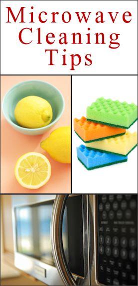 Clean Microwave in 5mins